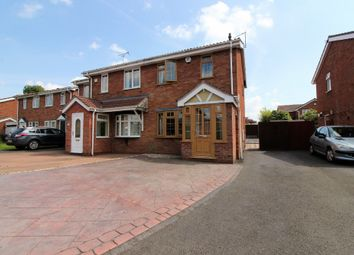 Thumbnail 2 bed semi-detached house for sale in Packwood Close, Willenhall