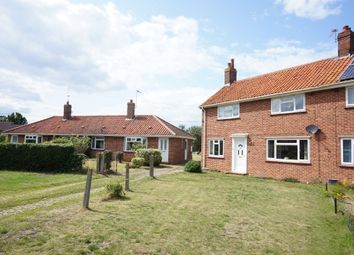 Thumbnail 3 bed semi-detached house for sale in Queensway, Earsham, Bungay