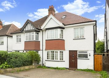 Thumbnail 4 bed semi-detached house for sale in Meadow Road, Pinner, Middlesex.
