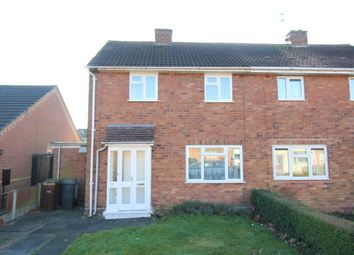 Thumbnail 2 bed semi-detached house for sale in Day Avenue, Wednesfield, Wolverhampton