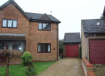 Thumbnail 2 bed semi-detached house for sale in Barn Close, Stilton, Peterborough