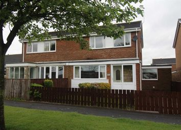 Thumbnail 3 bed semi-detached house for sale in Pentridge Close, Eastfield Chase, Cramlington