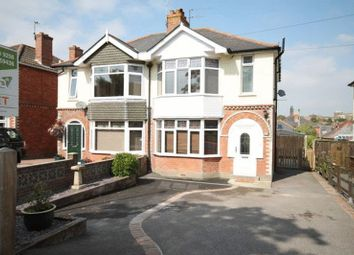 Thumbnail 3 bed semi-detached house for sale in Coburg Road, Dorchester