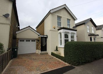 Thumbnail 3 bed detached house for sale in Marlborough Road, Ashford, Surrey