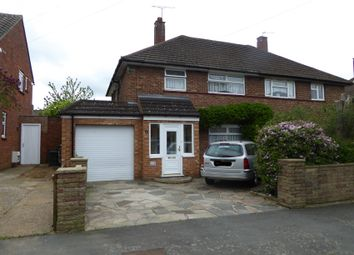Thumbnail 3 bed semi-detached house for sale in Kennelwood Crescent, New Addington, Croydon