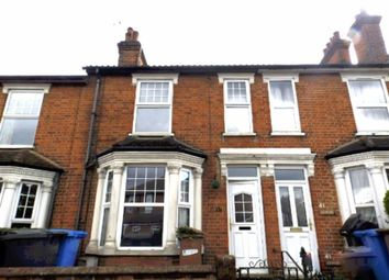 Thumbnail 3 bedroom terraced house to rent in Belstead Road, Ipswich, Suffolk