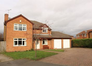 Thumbnail 5 bed detached house for sale in Blackthorn Close, Lutterworth