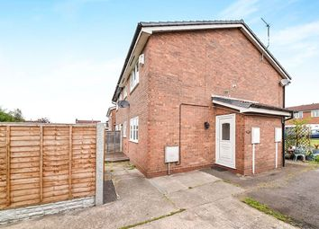 Thumbnail 1 bedroom semi-detached house for sale in Birches Close, Stretton, Burton-On-Trent