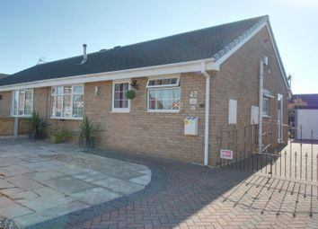 Thumbnail 3 bed semi-detached bungalow for sale in St. Lawrence Avenue, Snaith, Goole