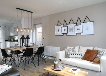 """Thumbnail 4 bedroom detached house for sale in """"The Berrington"""" at Winchester Road, Boorley Green, Botley"""