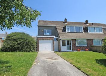 Thumbnail 3 bed semi-detached house for sale in Winsbury Court, Crownhill, Plymouth