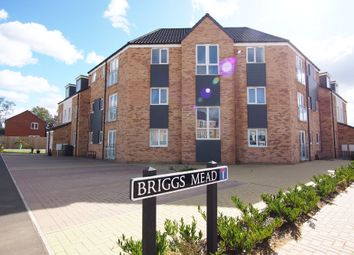Thumbnail 2 bed flat for sale in Briggs Mead, Wymondham