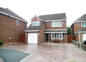 Thumbnail 4 bed detached house for sale in Turnstone Close, Leigh