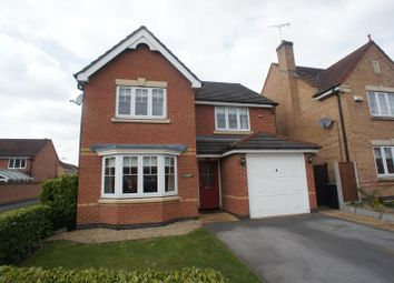 Thumbnail 4 bed detached house to rent in Groombridge Crescent, Littleover, Derby