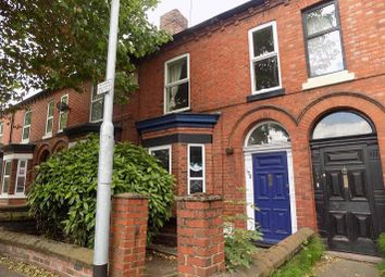 Thumbnail 3 bed terraced house to rent in Wilderspool Causeway, Latchford, Warrington