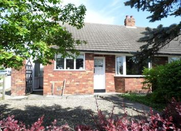 Thumbnail 3 bedroom semi-detached bungalow to rent in South Lane, Haxby, York