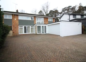 Thumbnail 5 bedroom detached house to rent in Calvin Close, Camberley