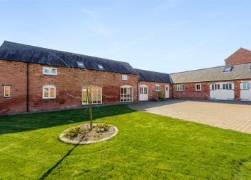 Thumbnail 5 bed barn conversion for sale in Frolesworth Road, Broughton Astley, Leicester