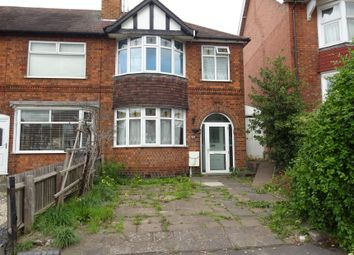 Thumbnail 3 bed semi-detached house for sale in Aylestone Road, Leicester