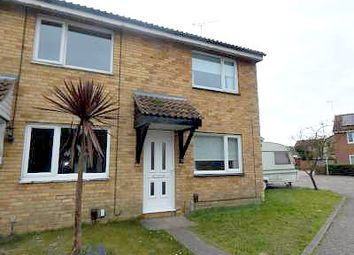 Thumbnail 2 bed end terrace house to rent in The Josselyns, Trimley St. Mary, Felixstowe
