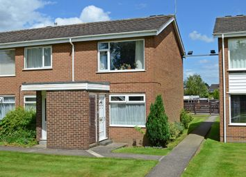 Thumbnail 2 bed flat for sale in Silverdale Court, York