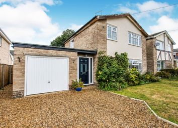 Thumbnail 3 bed detached house for sale in Aspal Lane, Beck Row, Bury St. Edmunds