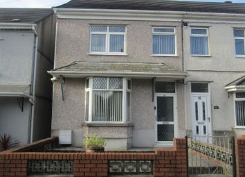 Thumbnail 3 bed semi-detached house for sale in Brecon Road, Ystradgynlais, Swansea, City And County Of Swansea.