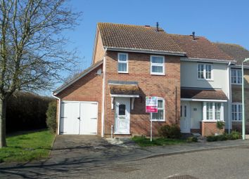 Thumbnail 2 bedroom end terrace house to rent in Rowans Way, Leavenheath, Colchester
