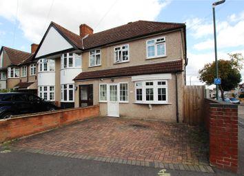 Thumbnail 3 bed end terrace house for sale in Leechcroft Avenue, Blackfen, Kent
