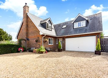 Thumbnail 3 bed detached house for sale in Branksome Avenue, Chilbolton, Stockbridge, Hampshire
