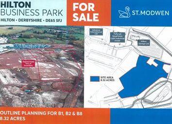 Thumbnail Land for sale in Hilton Business Park, Hilton, Derbyshire