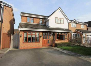 Thumbnail 4 bed detached house for sale in Mills Way, Leighton, Crewe