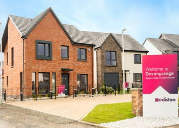 Thumbnail 4 bed detached house for sale in The Jardine - Plot 36, Devongrange, Sauchie, Alloa, Clackmannanshire