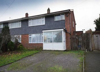 Thumbnail 3 bed semi-detached house for sale in St. Aldams Drive, Pucklechurch, Bristol