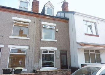 Thumbnail 3 bed terraced house for sale in Victoria Street, Hucknall