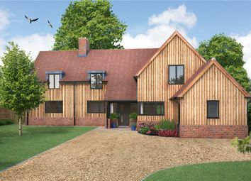 Thumbnail 4 bedroom detached house for sale in Chapel Close, Houghton, Stockbridge, Hampshire