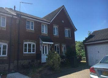 Thumbnail 2 bed terraced house to rent in Swallowtail Close, Pinewood, Ipswich