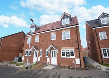 Thumbnail 4 bed semi-detached house for sale in Mallard Way, Sprowston, Norwich