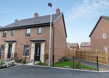 Thumbnail 3 bed semi-detached house for sale in Rees Way, Lawley Village, Telford, Shropshire