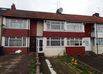 Thumbnail 2 bed terraced house for sale in Queens Drive, Waltham Cross, Hertfordshire