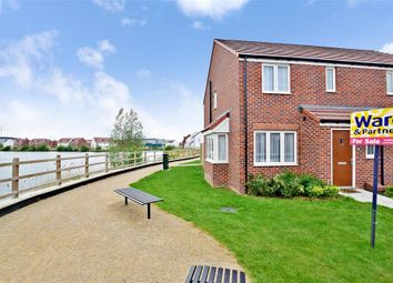 Thumbnail 3 bed semi-detached house for sale in Ellingham View, Dartford, Kent