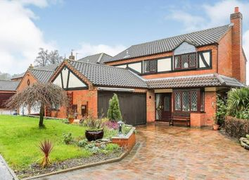 Thumbnail 4 bed detached house for sale in Outwoods Close, Atherstone, Warwickshire