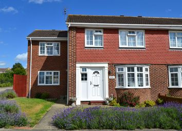 Thumbnail 4 bed semi-detached house for sale in Columbia Avenue, Seasalter, Whitstable
