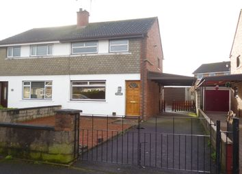 Thumbnail 3 bed semi-detached house for sale in 52 Auchenkeld Avenue, Heathhall, Dumfries