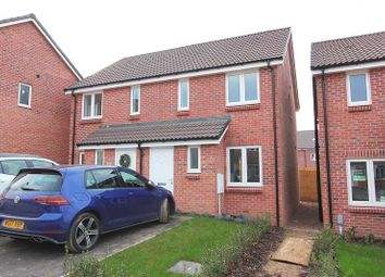 Thumbnail 2 bed semi-detached house to rent in Sweet Chestnut, Cranbrook, Exeter
