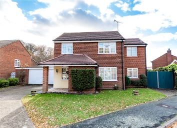 Thumbnail 4 bed detached house for sale in Kilmartin Gardens, Frimley, Surrey