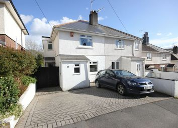 Thumbnail 3 bedroom semi-detached house for sale in Harwood Avenue, Tamerton Foliot, Plymouth