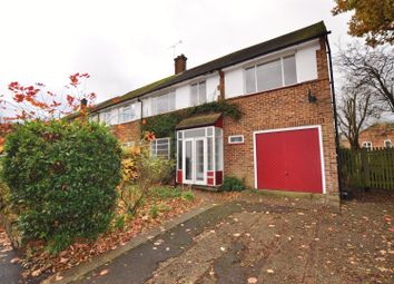 Thumbnail 5 bed semi-detached house for sale in Downes Road, Sandridge, St.Albans
