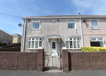 Thumbnail 4 bed semi-detached house for sale in Penybont, Nantybwch, Tredegar