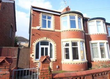 Thumbnail 3 bed semi-detached house for sale in Collingwood Avenue, Blackpool